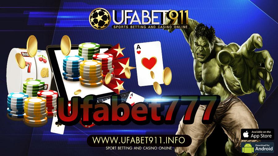 Ufabet777 ร่ำรวยได้อย่างไม่ยาก ให้บริการมาอย่างยาวนาน